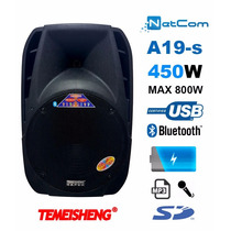 Corneta Amplificada Portatil A19s-15 Bluetooth Bateria Eq