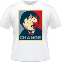 Camiseta South Park Change Randy Marsh Camisa Stan Kyle