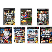 Patches Gta (kit De 7) Grand Theft Auto San Andreas
