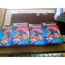 Preescolar Activa, Para Jugar Y Aprender, 4tomos.