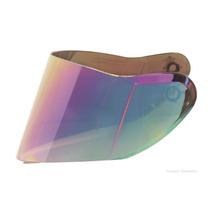 Viseira Mt Helmets Capacete Optimus Escamoteável Rainbow 2mm
