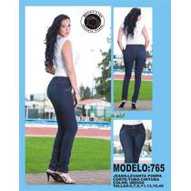 Jeans Dama Levanta Pompa! Colombiano! Modelos Y Tallas