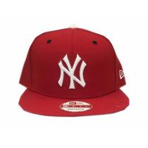 Gorra Hombres New Era New York Yankees Rojo Talla Única
