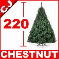 Arbol De Navidad 220 Verde Chestnut Pino Artificial Pachon