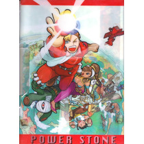 Carpeta Plastica Power Stone De Capcom Y0283 2