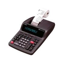 Calculadora De Mesa Grande Com Bobina Casio Dr-120tm 220v