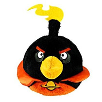 Juguete Angry Birds Aves Con Sonido Pájaro Negro