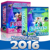 Frozen Kit Imprimible Frozen Fever 2016 Fiebre Congelada 2x1
