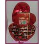 Chocolates Personalizados En Caja Corazon Importado