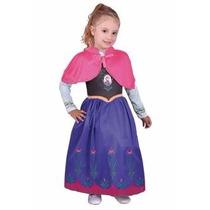 Disfraz New Toy´s Frozen Anna 3-4 Años Talle 0 70 A 80cm