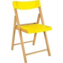 Cadeira De Madeira E Plástico A - Tramontina