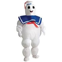 Disfraz Ghostbusters Bombon Cazafantasma Niño Stay Puft