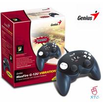 Control Joystick Maxfire G-12u Vibración Genius Xtc