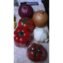 Recipientes De Plastico Para Guardar Tomate Cebolla Ajo Etc