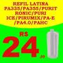 Refil 3 Estágios Filtro Latina Puri Ice Purimix Puritronic