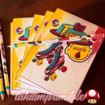 Anotadores Y Lapices Personalizados X10 Souvenir Soy Luna