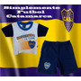 Conjunto Boca Juniors Bebé Oficial