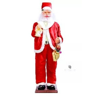 Papai Noel Gigante Dançante Sensor Natal 1,80m Frete Grátis