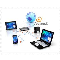 Conmutador Ip Asterisk Pbx Para 30 Extensiones | Troncal Sip