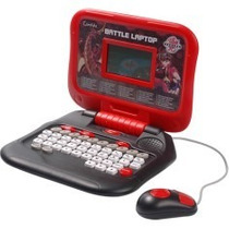 Laptop Notebook Infantil Educativo Bakugan 60funções Candide