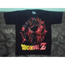 Playeras Dragon Ball Z Gt De Goku Krillin Talla 10-12 Niño