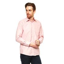 Hpc Polo - Camisa Vestir Fantasia 3005 Mod. 21 - Rosa - 3005