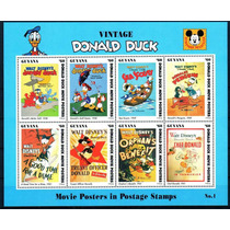 Disney Guiana 1993 Pato Donald Mint (wd126)