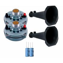Kit 2 Driver Selenium D250x + Corneta + Capacitor + Brinde