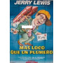 Afiche Original Mas Loco Que Un Plumero Jerry Lewis 110x150