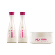 Kit Plastica Dos Fios Bambarro Madame Lis + 1 Mascara Pq