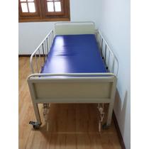 Cama Hospitalar Manual Nova C/regulagens De Altura + Colchão