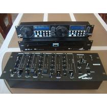 Cd Player Con Mezcladora Mp3, Sd, Usb Audio Pipe