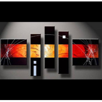 Cuadros Pintados Abstractos. Modernos. Super Promo!!