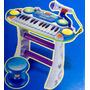 Organeta Electrónica Con Micrófono,melodías,parlante,luces