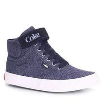 Tênis Casual Feminino Coca Cola Mika Soft - Azul