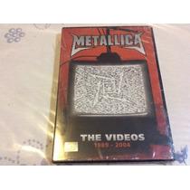 Dvd Metallica The Videos 1989-2004