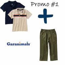 2 Chemise+1 Pantalon Garanimals / Usa