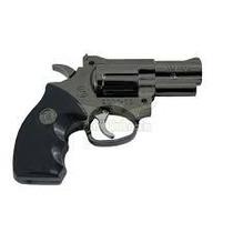 Isqueiro Tipo Revolver Com Laser / Gás Butano Recarregável