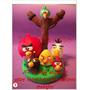 Angry Birds En Porcelana Fria Adorno Para Torta Y Souvenirs