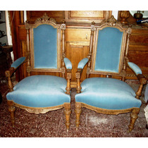 Sillon Antiguo Estilo/frances/ingles