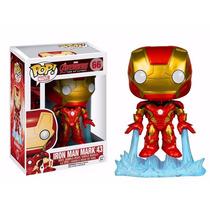 Boneco Iron Man Mark Avengers 2 Pop! Marvel 66 Funko