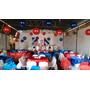 Kit 30 Bola + 30 Ganchos Para Decoração Festas Aniversários
