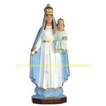 Escultura Nossa Senhora Gloria Linda Imagem 60cm Fabrica