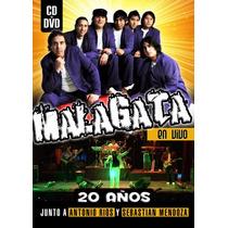 Malagata - En Vivo 20 Años ( Dvd + Cd )