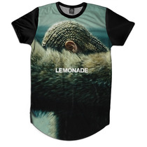 Lemonade Beyonce Camiseta Camisetao Masculino Oversized Swag