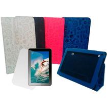 Capa Tablet Cce 9 Tr91 Tr92 Cute + Pelicula De Vidro+ Caneta