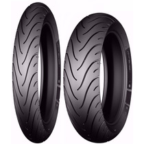 Par Pneu 80/90-17 + 110/80-14 Michelin Pilot Street Biz Pop