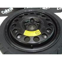Roda Estepe Com Pneu Mercedes 17 5x112 C180 C200 Clk Cla
