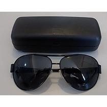 Oculos Sol Aviador Unissex Lentes 100% Polarizadas + Brindes