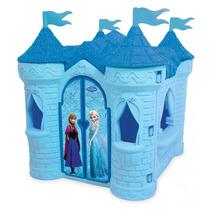 Novo Brinquedo Playground Castelo Frozen Disney Azul